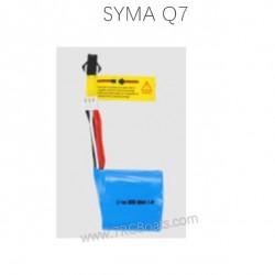 SYMA Q7 Knight RC Boat Parts Battery 7.4V 600mAh
