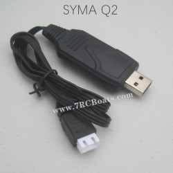 SYMA Q2 Speed RC Boat Parts 7.4V USB Charger