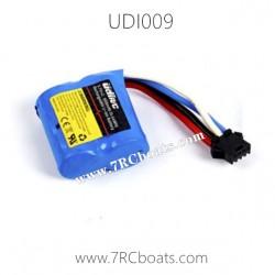UDI Rapid RC Boat UDI009 Battery 7.4V 1500mAh