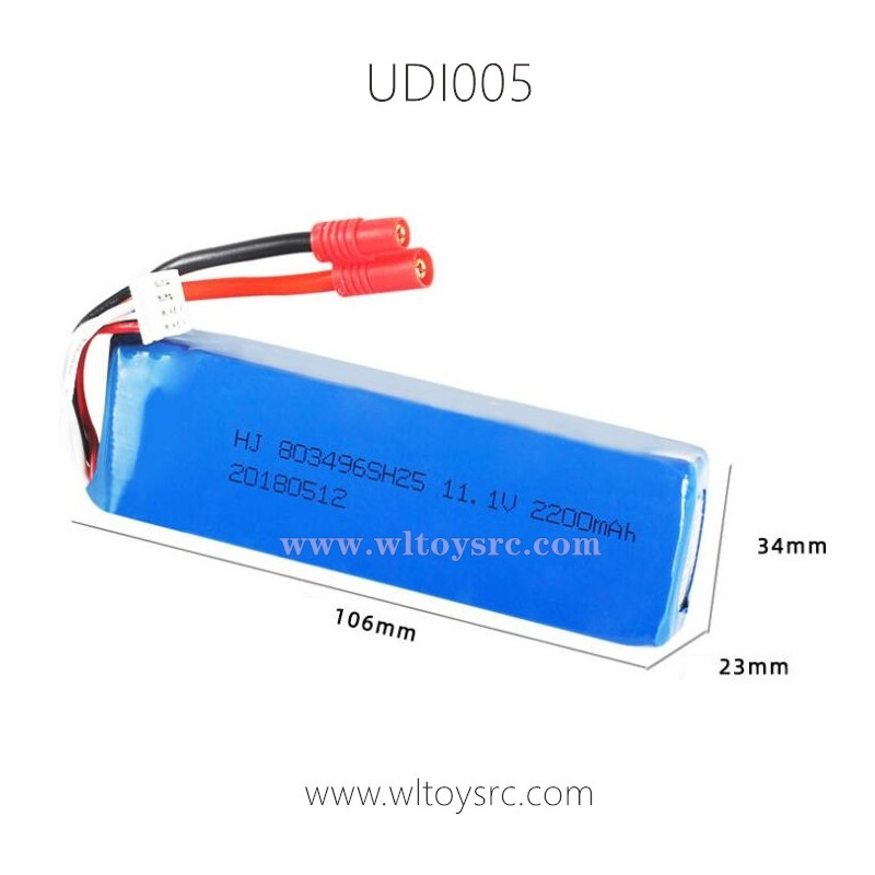 UDI UDI005 Arrow RC Boat Battery