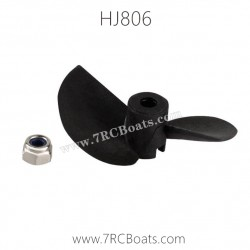 HongXunJie HJ806 2.4G RC Boat Parts Propeller with Nut